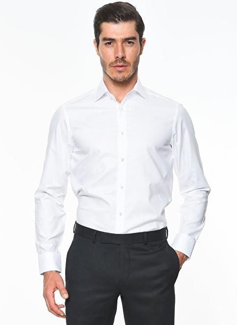 Ramsey Klasik Gömlek Beyaz